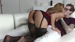 Smokin' Hot Chloe Amour Shows Her Dirty Feet Skills