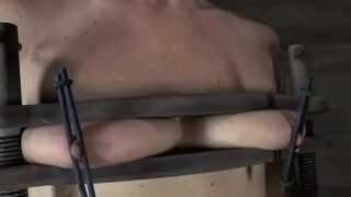 Pair of Titties getting punished BDSM Style